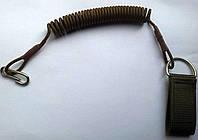 Страховочный шнур спиральный (тренчик) Койот