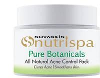 Натуральная маска Контроль жирности и акне, Pure Botanicals, Nutrispa, Novaskin, Mattifying Oil Face Musk, Аюрведа Здесь