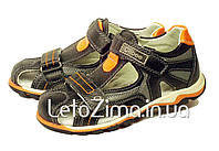 Кожаные сандалии для мальчика р.31-36