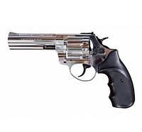 "Револьвер під патрон Флобера TROOPER 4.5"" cal. chrome(хром), фото 1"
