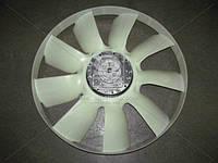 Муфта вязкостная с вентилятором 704мм, дв. 740.62, 740.65 с обечайкой (покупн. КамАЗ). 020004351