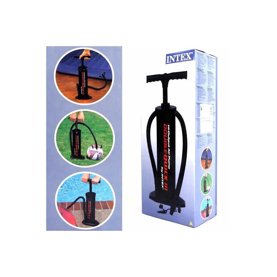 Ручной насос для надувания Intex 68615 (объем 5 л, высота насоса 48 см)