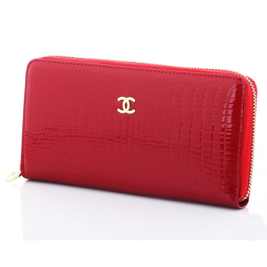 3db83ea2d62d Стильный лакированный кошелек-клатч женский в стиле Chanel (13060) -  Интернет-магазин