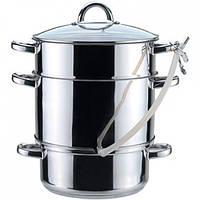 Соковарка Zauberg объемом 8 литров из нержавеющей стали