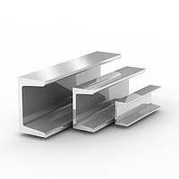 Алюминиевый швеллер уголок,  ГОСТ АД31 10х15х10х1 длина 6м цена купить швеллера 40х50х40х4, 50х100х50х5 ООО Айгрант