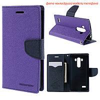 Чехол книжка Mercury Goospery Wallet для Lenovo Vibe S1 фиолетовый