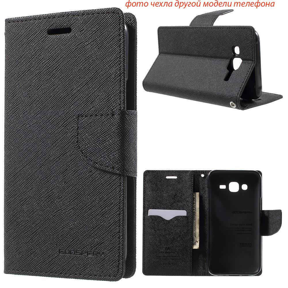 Чехол книжка Mercury Goospery Wallet для LG G3s D724 G3 mini черный