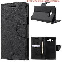 Чехол книжка Mercury Goospery Wallet для LG K10 K430DS черный