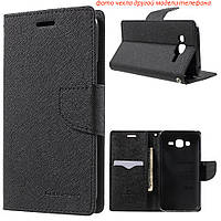 Чехол книжка Mercury Goospery Wallet для LG L60 X135 X145 X147 черный