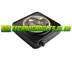 Электроплитка одноконфорочная Элна-100Ц спираль тонкая