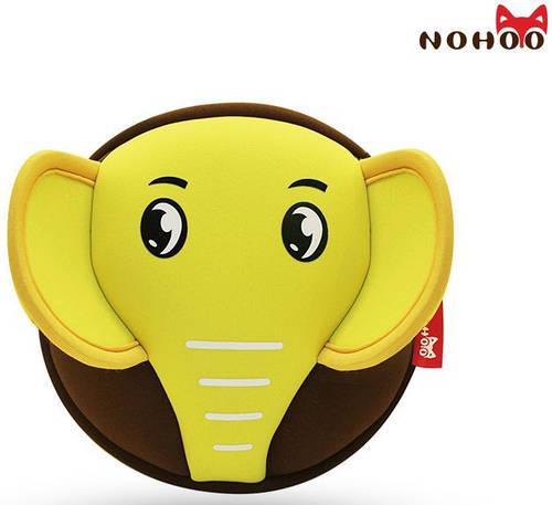Красивая детская сумка желтый Слоненок  Nohoo NHK002-3