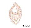 Нежный шейный платок 60*60  (61043)