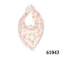 Нежный шейный платок 60*60  (61043), фото 1