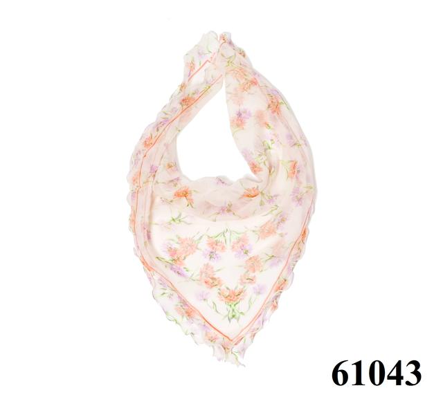 Нежный шейный платок 60*60  (61043) 1