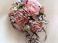Букет-дублер нежно-розового цвета
