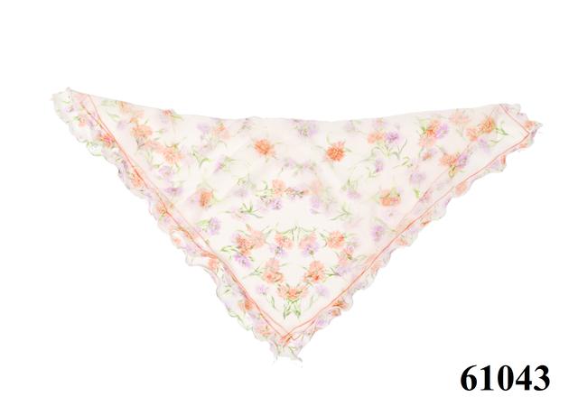 Нежный шейный платок 60*60  (61043) 4