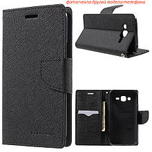 Чехол книжка Mercury Goospery Wallet для Samsung Galaxy Star Advance Duos G350 черный