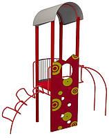 """Детский комплекс Kidigo """"Краб"""" высота горки 1,2 м"""