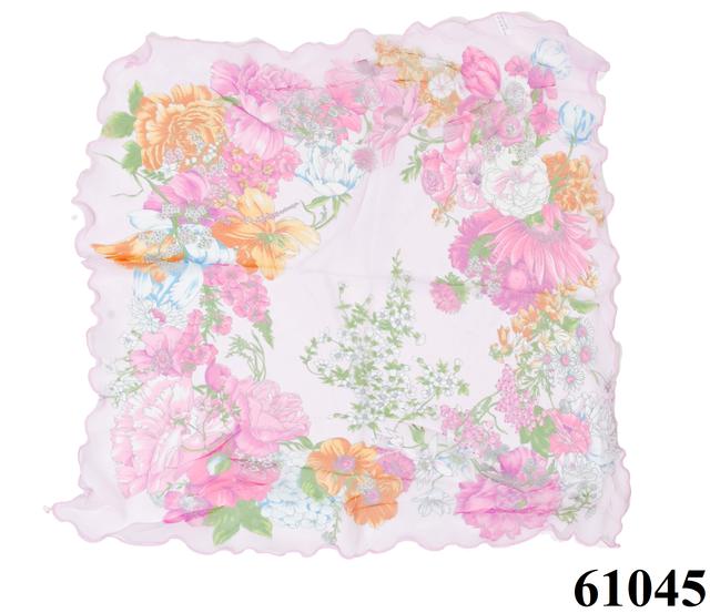 Нежный шейный платок 60*60  (61045) 3