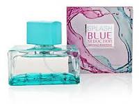 Духи  Antonio Banderas Splash Blue Seduction For Woman 100 ml(антонио бандерас)