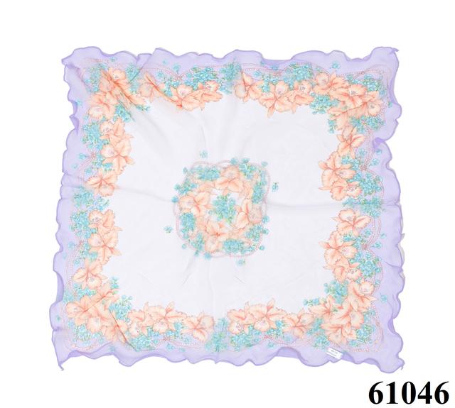 Нежный шейный платок 60*60  (61046) 3