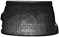 Коврик в багажник Peugeot 308 II 2014- хетчбэк (AVTO-GUMM)