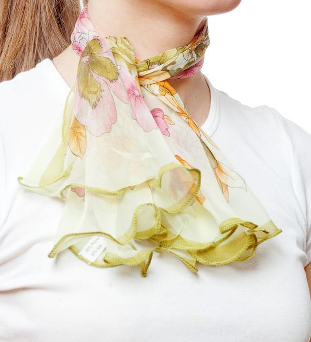Нежный шейный платок 60*60  (61047) 2