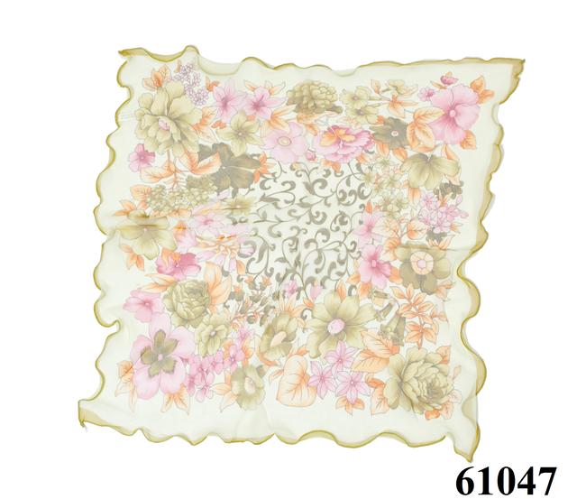 Нежный шейный платок 60*60  (61047) 3