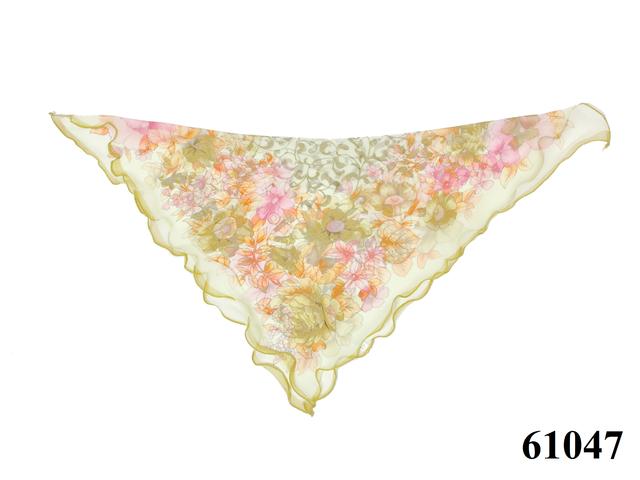 Нежный шейный платок 60*60  (61047) 4