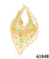 Нежный шейный платок 60*60  (61048), фото 1
