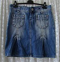 Юбка джинсовая модная Fishbone р.44 6844а, фото 1