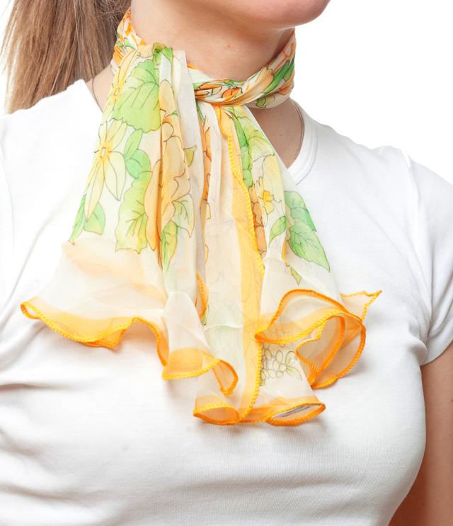 Нежный шейный платок 60*60  (61048) 2