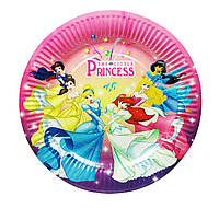 "Тарелочка ""Принцессы Дисней"" 24 см диаметр"