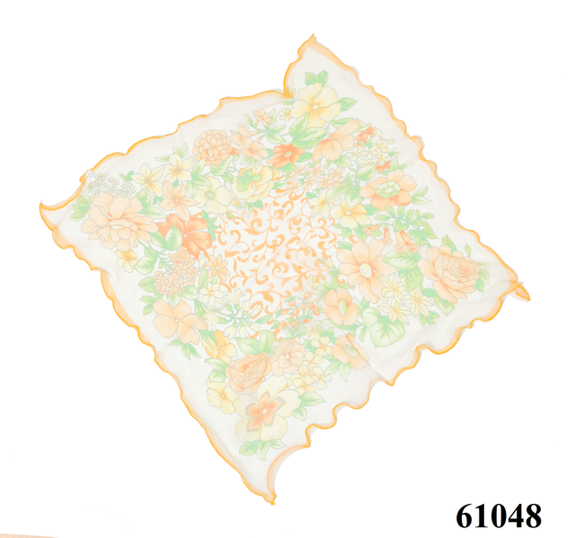 Нежный шейный платок 60*60  (61048) 3
