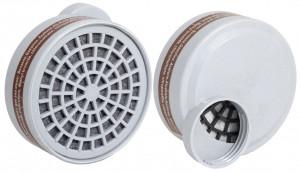 Банка круглая для респиратора  3М с одним фильтром (9500А-3)