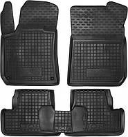Полиуретановые коврики в салон Peugeot 308 II 2014- хетчбэк (AVTO-GUMM)