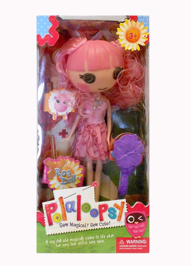 Кукла Lalaloopsy, с расчёской.