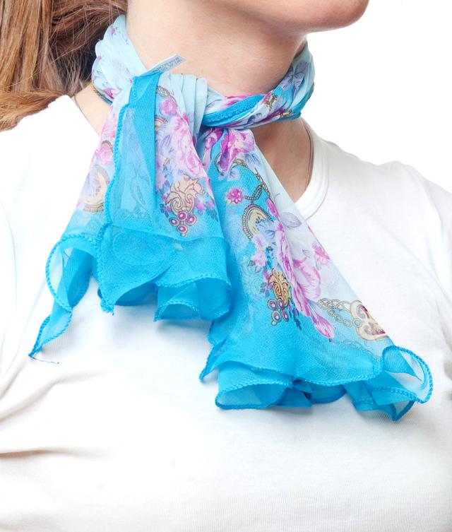 Нежный шейный платок 60*60  (61050) 2