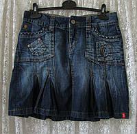 Юбка джинсовая модная синяя Esprit р.42-44 6845а