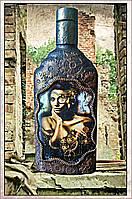 "Подарочная бутылка ""Steampunk - Lady"", подарки в стиле Steampunk, фото 1"