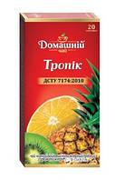 Чай  Домашний  тропик 20 пакетиков