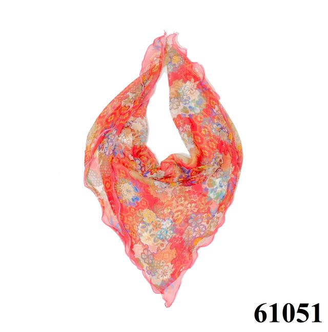 Нежный шейный платок 60*60  (61051) 1