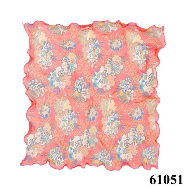 Нежный шейный платок 60*60  (61051) 3