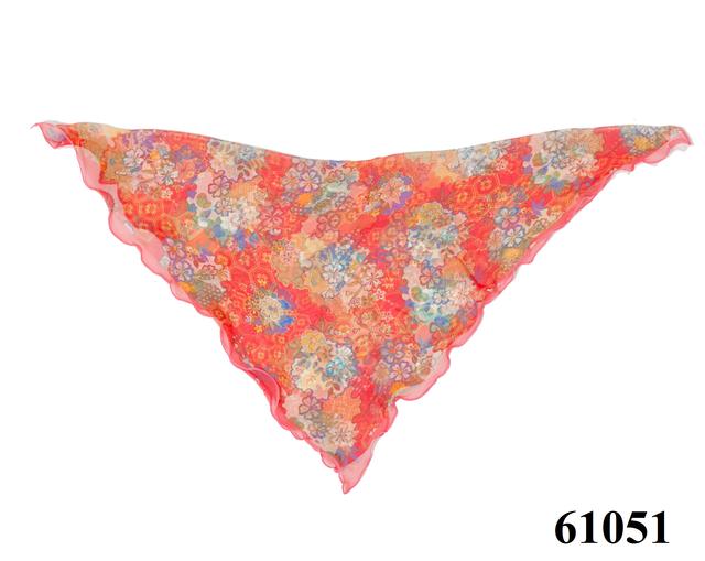 Нежный шейный платок 60*60  (61051) 4