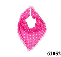 Нежный шейный платок 60*60  (61052), фото 1