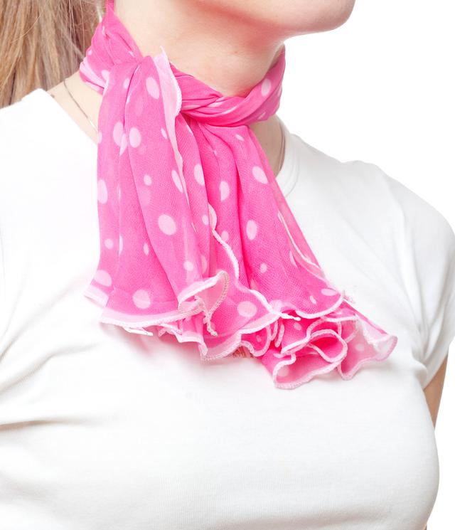 Нежный шейный платок 60*60  (61052) 2