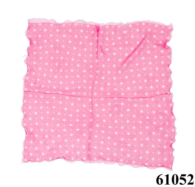 Нежный шейный платок 60*60  (61052) 3