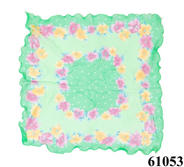 Нежный шейный платок 60*60  (61053) 3