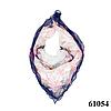 Нежный шейный платок 60*60  (61054)