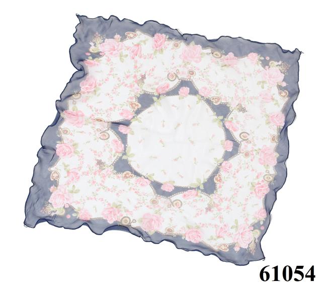Нежный шейный платок 60*60  (61054) 3